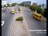 Днепродзержинск. Авария на Мире. Сбили пешехода. 04-06-14