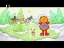 Карлючка: вчимося малювати - орока, будинок, бінокль, блискучі прапорці / Рапунцель, вежа, кулька, ходулі
