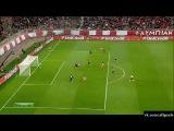 Лига Чемпионов / 1/8 финала / Олимпиакос 1-0 Манчестер Юнайтед / Гол Домингес / 25.02.2014