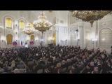 Выступление В.В.Путина 18.03.2014 - Крым и Севастополь входят в состав России