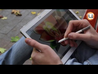 Обзор нового планшета Samsung Galaxy Note 10.1